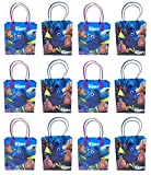 Disney Finding Dory Premium Quality Party Favor Reusable Goodie/Gift/Bags 36 Pieces