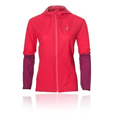 Running Étanche Waterproof Veste Jacket Asics Cosmo Femme Rose X7CYqv