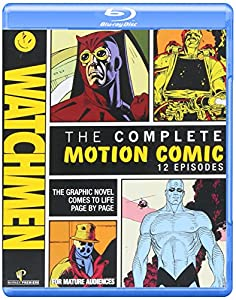 Cover Image for 'Watchmen: The Complete Motion Comic (+ Digital Copy and BD-Live)'