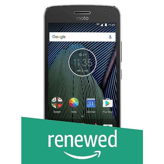 (Renewed) Moto G5 Plus XT1686 (Lunar Grey, 32GB)