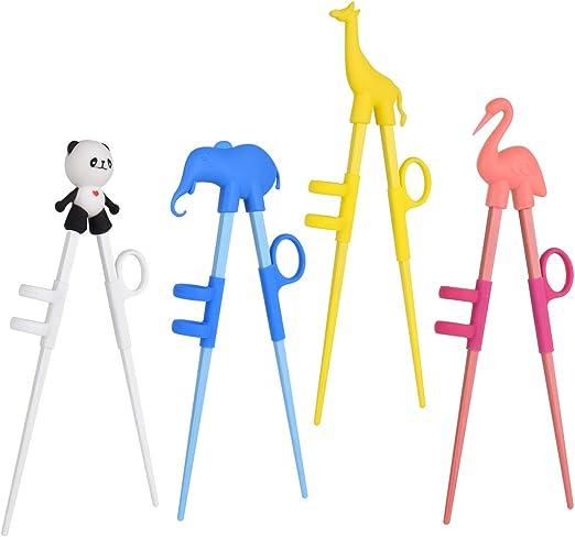 Brand new children kids training helper learning easy use beginner chopsticks X