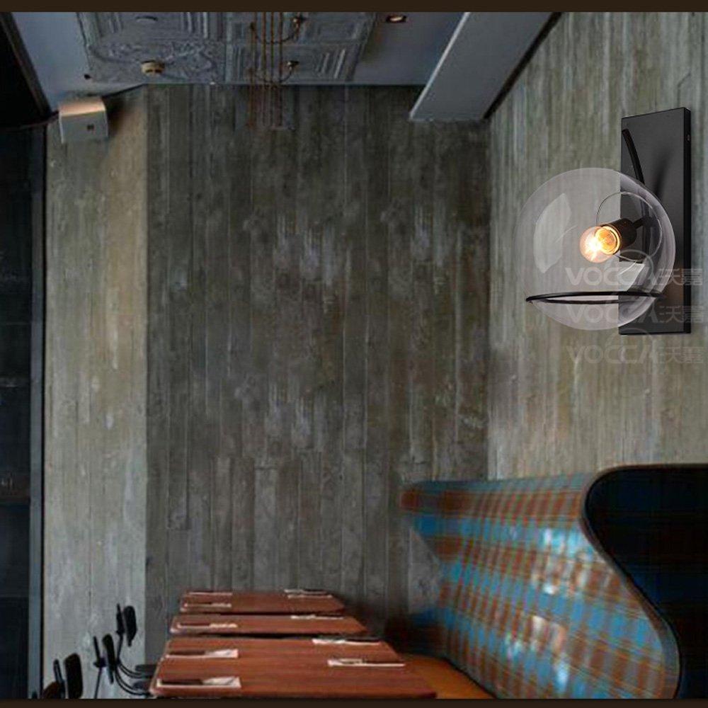 Noilyn- American Iron Wandleuchte Industrielle Vintage Loft Bar ...