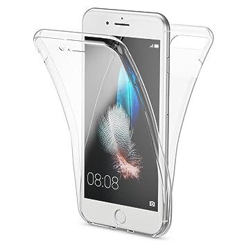 cd948f48f4d NALIA Funda 360 Grados Compatible con iPhone 7 Plus / 8 Plus, Delantera  Trasera Protectora