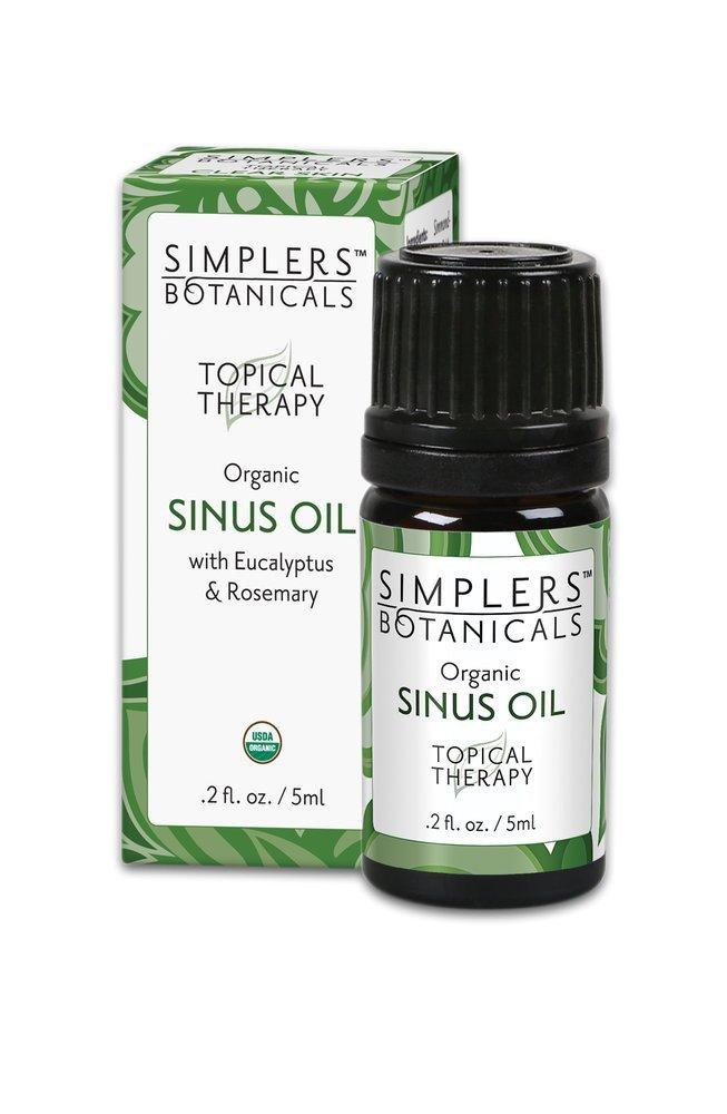 Sinus Oil Simplers Botanicals 5 ml Liquid