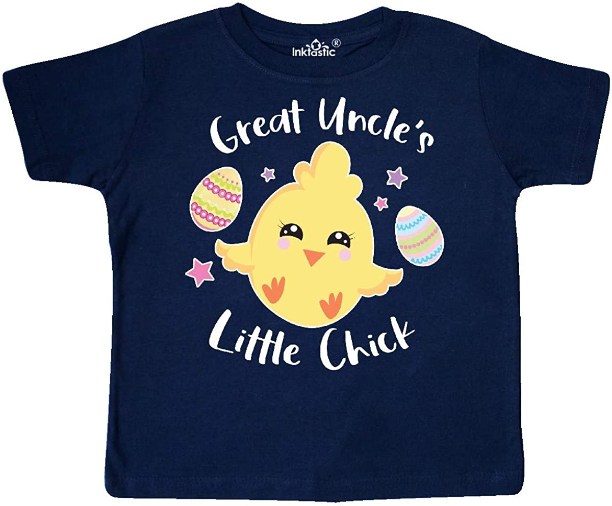 inktastic Happy Easter Great Uncles Little Chick Toddler T-Shirt