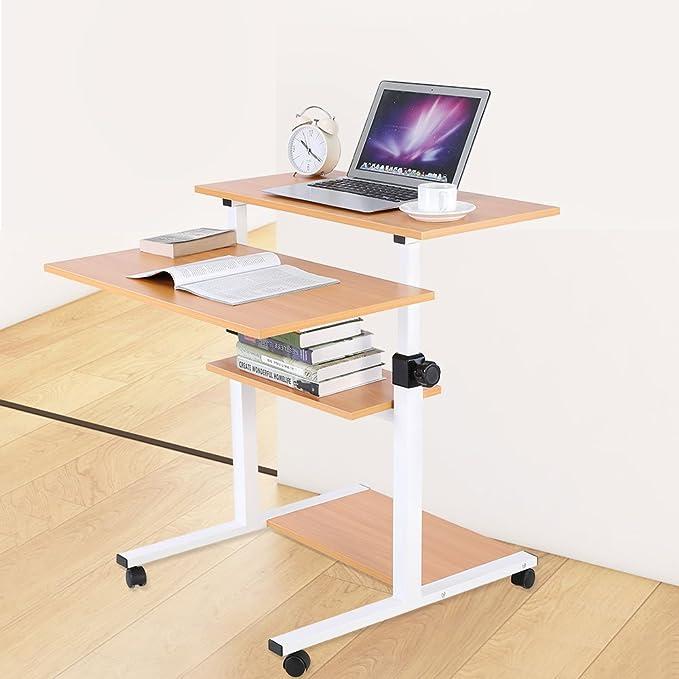 Muebles Mesa de Ordenador, Computadora Extrašªble Escritorio Mesa ...