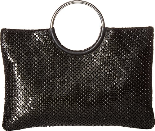 Jessica McClintock Women's Sonia Circle Handle Bag Black One Size - Circle Handle