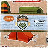Let's Go Camping Charms 42 5-inch Squares Charm Pack Patrick Lose Fabrics