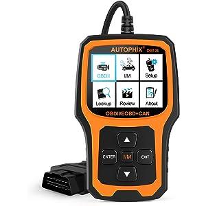 Amazon com: Car Code Reader AUTOPHIX OM123 OBD2 Scanner Auto
