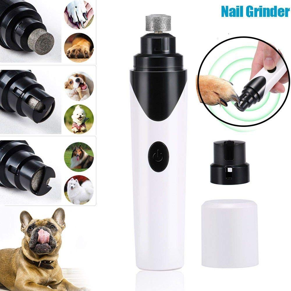Generic l File Supplypper Elec Claw Grinder Pro Pet Dog Trimmer Clipper Cat Nail Electric Nail File Supply Pro Pet Dog Cat Nail Cla