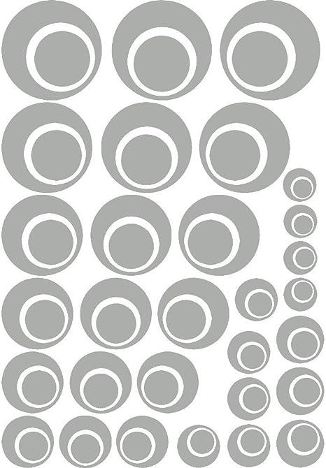 rosso verde beige 48 adesivi rotondi con scrittaDANKE GL/ÜCKWUNSCH F/ÜR DICH VIEL GL/ÜCK a forma di cuore quadrifoglio nero naturale in carta kraft bianco
