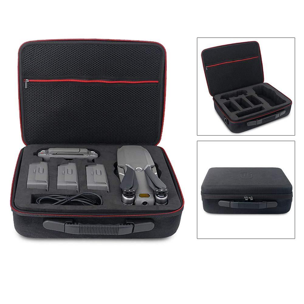 Luerme 4 バッテリーショルダーバッグケース バックパック収納ボックス ケーブルオーガナイザー ハードキャリーケース DJI Mavic 2 Pro/Zoom ドローン用   B07HHZNCJF