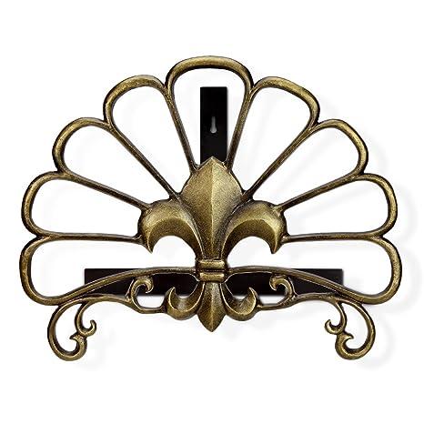 565c4d4b46f19 Amazon.com : Viridian Bay Fontaine Collection Fleur de Lys Hose ...