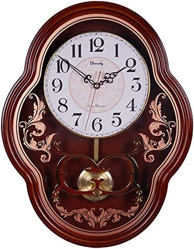 Biesealy Wall Clock-Quartz Wall Clock-8 inch dial