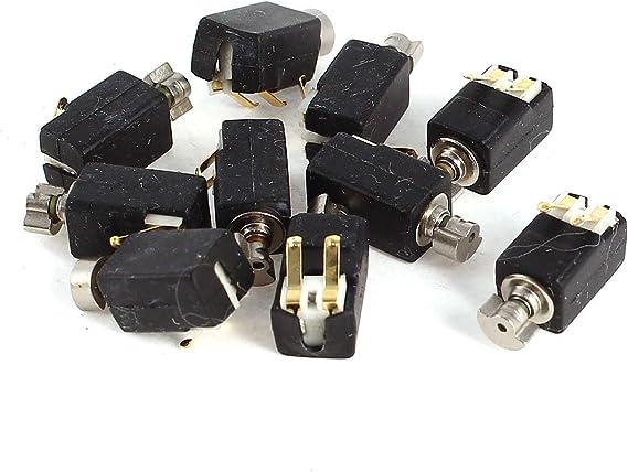 10PCS DC 3V Mini Button-type Coin Flat 1030 Vibration DC Motor Vibrating DIY Toy