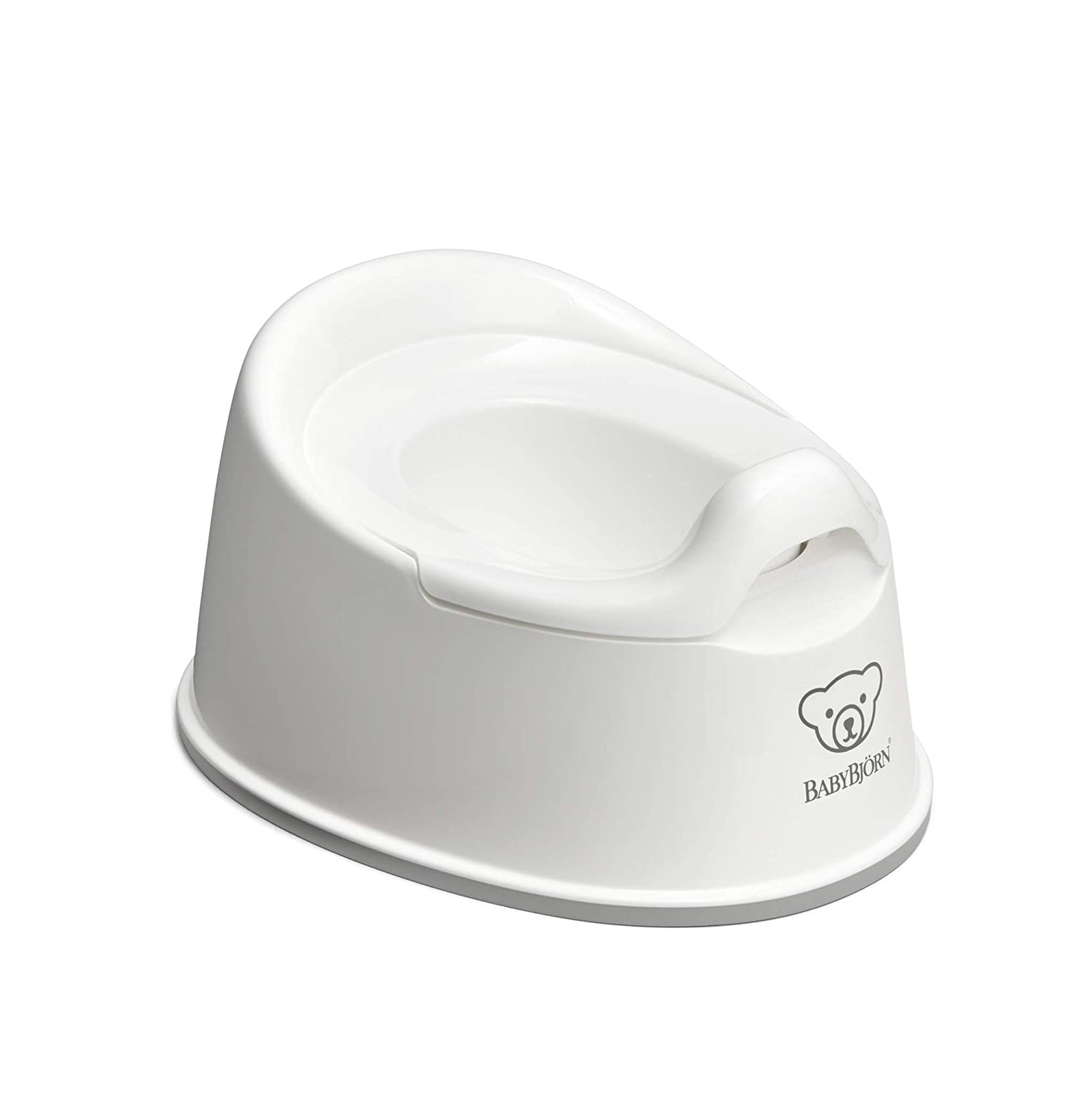 White//Gray BabyBj/örn Smart Potty
