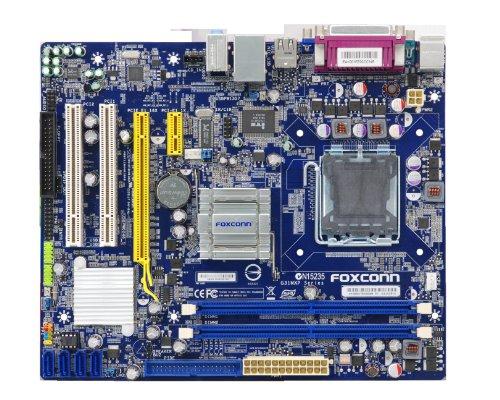 Foxconn G31MXP-K Intel G31 Socket 775 mATX Motherboard w/Video, Audio & Gigabit - Audio Motherboard Foxconn
