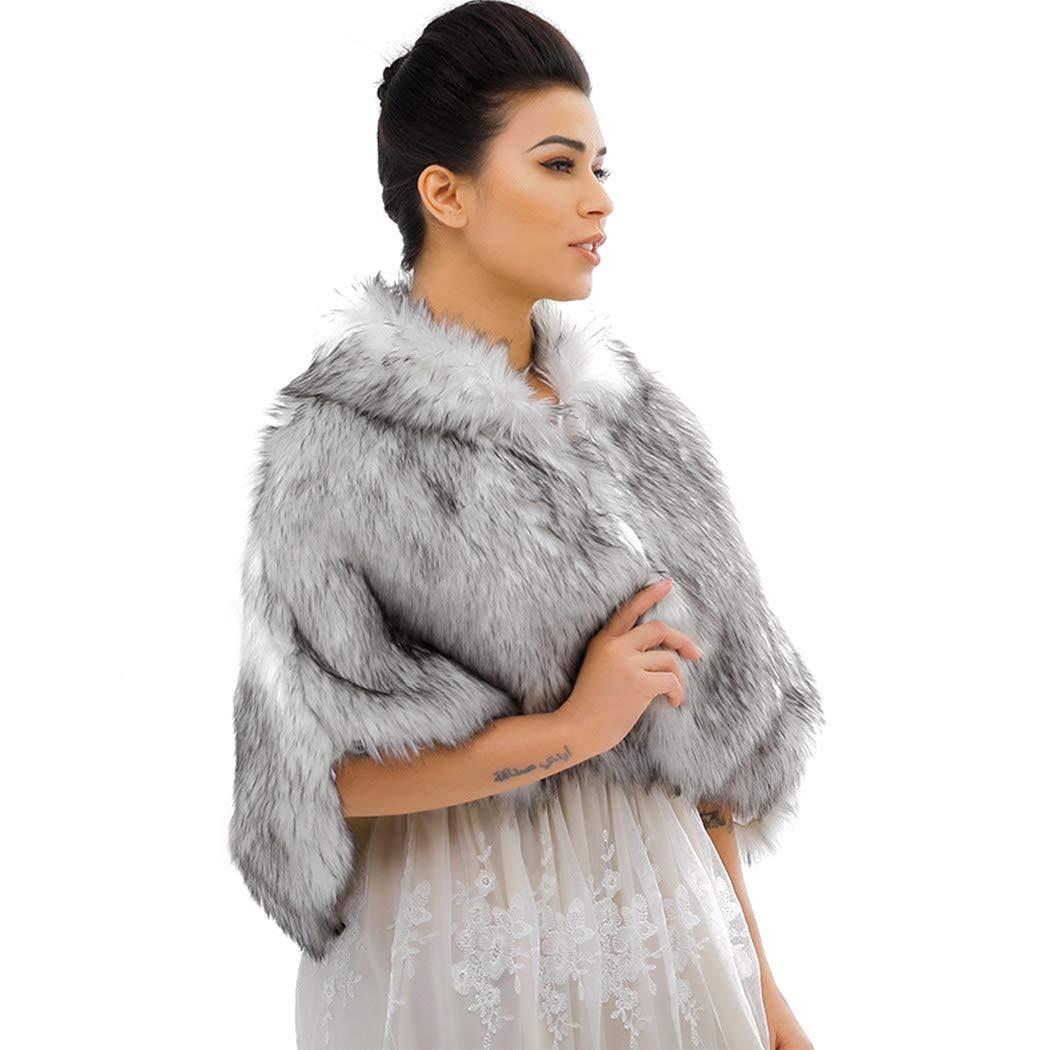 Nicute Fur Wraps Shawls...