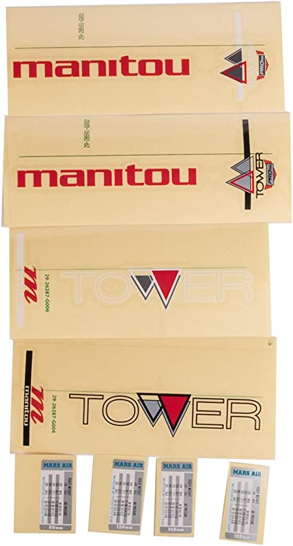 Manitou My13 Kit Tower Sport Decal Kit Decal Kit