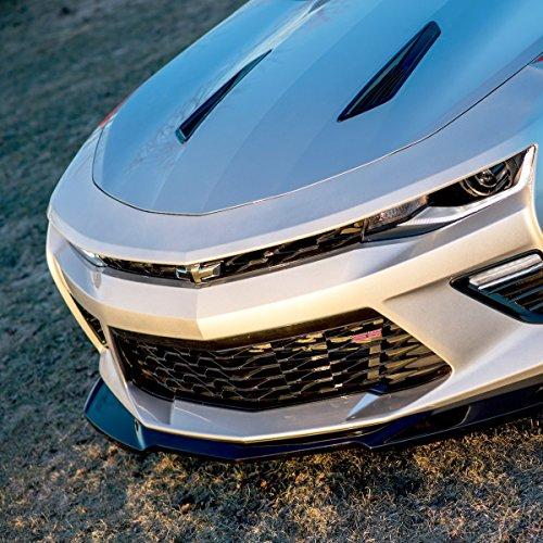Lip Front Acs (ACS Composite ZL1 Front Lip Chin Spoiler Splitter for the 2016 2017 Camaro SS (Primer (Unpainted)))