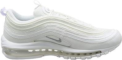 Nike Air Max 97 Zapatos De Hombre Blanco/Wolf Gris/Negro 921826-101