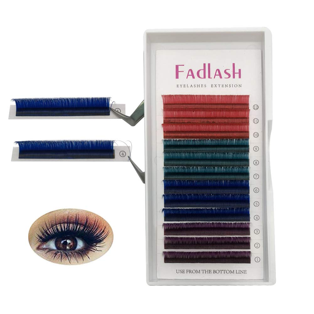 d897d819316 Amazon.com : Volume Lash Extensions Brown2D 4D 5D 6D~10D Cluster Lashes D  Curl 0.07mm 15mm Knot Free Individual Eyelashes 7D 8D Professional Flare  Lashes : ...