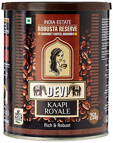 DEVI Kaapi Royale Robusta Reserve Coffee Grounds,