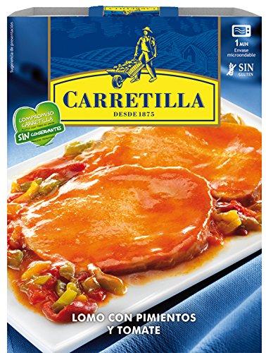Carretilla Lomo Con Pimientos Y Tomate - 250 g