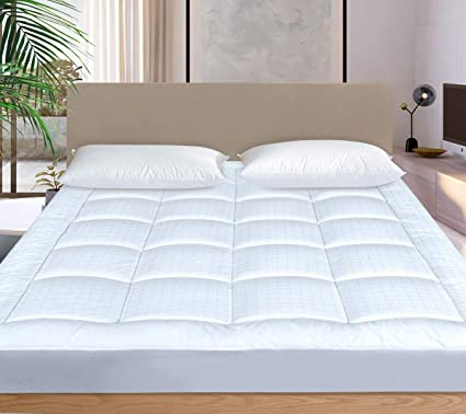 Amazon Com Cosylifee Cal King Mattress Pad Cover Cooling Mattress