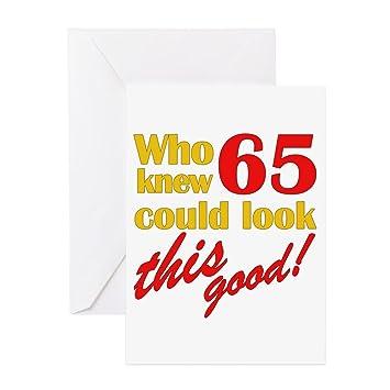 Amazon.com: CafePress – Funny 65th cumpleaños regalos de ...