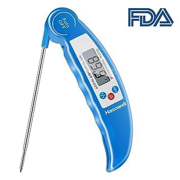 Termómetro digital de carne para cocinar alimentos, termómetro de lectura instantánea, termómetro electrónico de