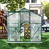U-MAX Greenhouse Polycarbonate Outdoor Garden