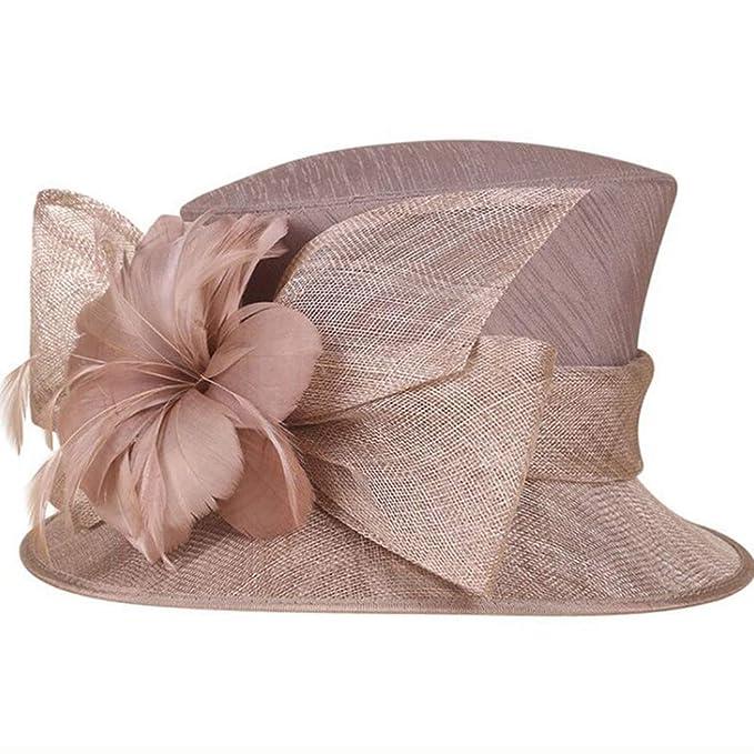 buona vendita Sconto del 60% vendita scontata OLADO Cappelli Vintage da Donna. Cappello da Sposa in Lino ...
