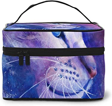 Bolsas de Maquillaje Dreamy Cat Estuche para artículos de tocador Accesorios de Viaje: Amazon.es: Equipaje