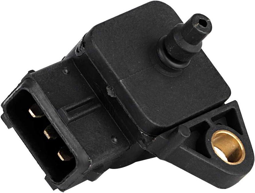 Sensor de MAP sensor de presi/ón absoluta del m/últiple de admisi/ón del coche Sensor de presi/ón del m/últiple de MAP apto para E46//E39//E38//X5 E53 13622246977