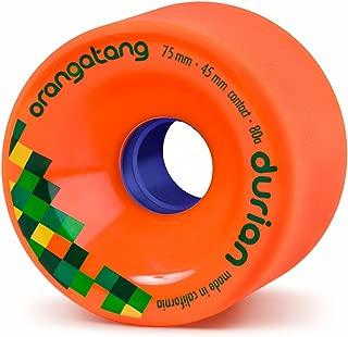 product image for Orangatang Durian 75 mm Freeride Longboard Skateboard Wheels (Set of 4)