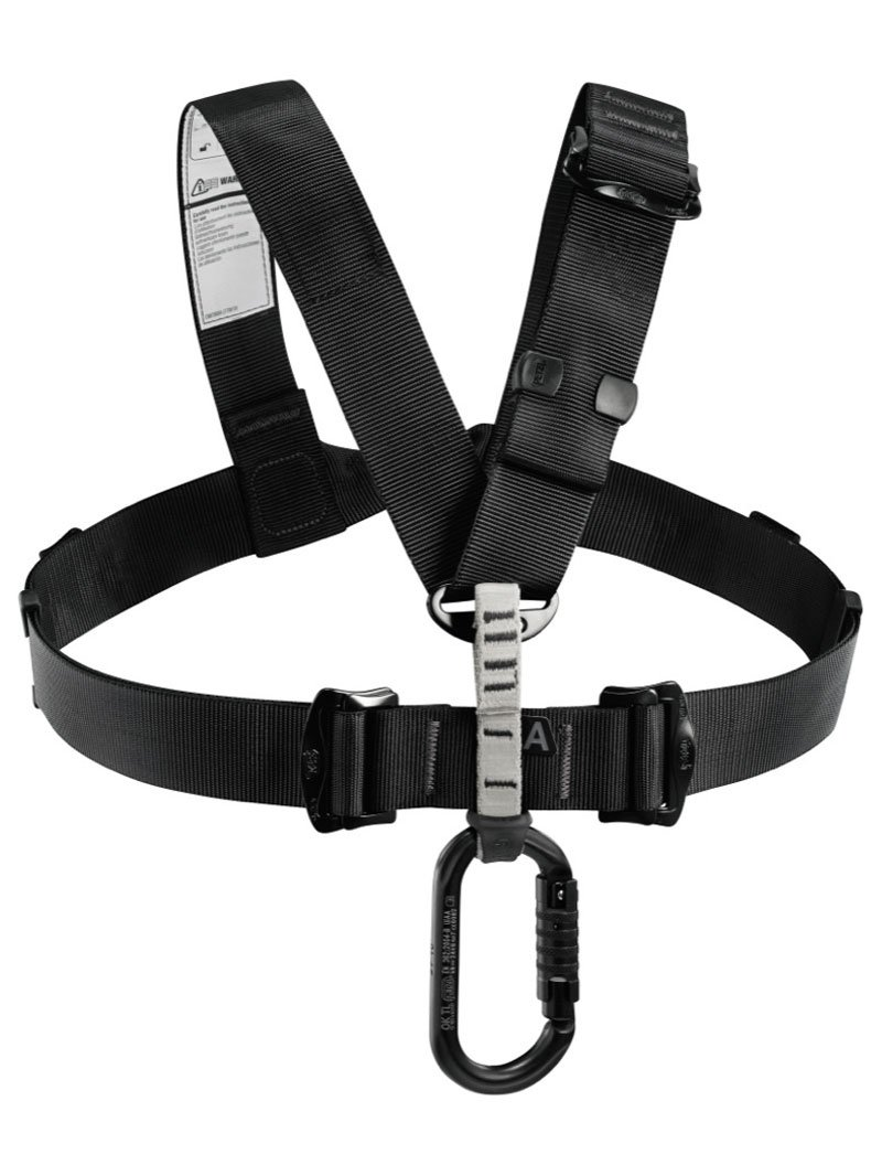 Petzl - CHEST'AIR, Chest Harness for Seat Harnesses