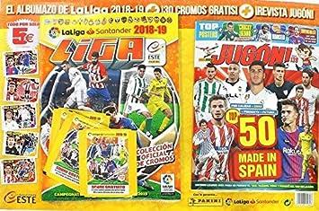 Panini Liga Este 2018/2019 Album + Revista +30 CROMOS: Amazon.es: Juguetes y juegos