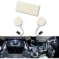 LED Interior Reading Light kit for JEEP Wrangler JK White 6000K Super Bright Interior Reading light/Front Rear Upper…