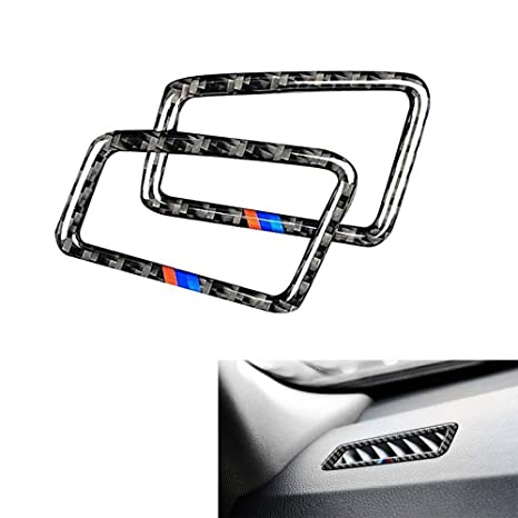 da28e7f41a9f Thor-Ind Carbon Fiber Air Conditioning Side Vent Outlet Trim Frame Cover BMW  Old 3