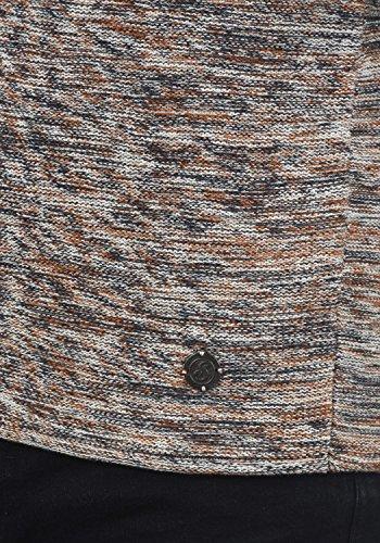 Bone 5015 Cotone 100 Uomo Brown In Pullover Girocollo Da Con Maglieria solid Maglione Foury wWqSOxBZ1P