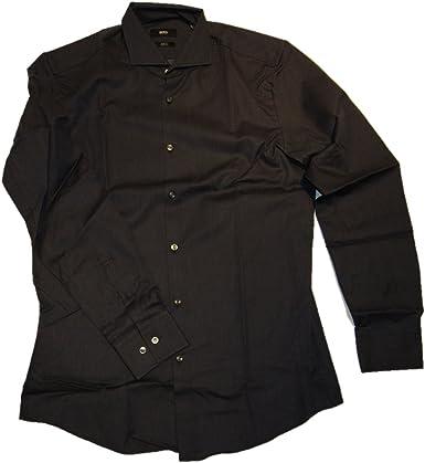 BOSS Black Camisa Jason Color Azul Oscuro 410: Amazon.es ...