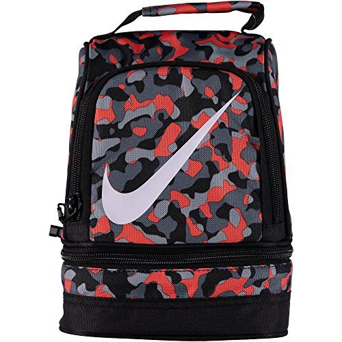 Nike Dome Lunch Tote - Total Orange/Cool Grey (Orange Lunch)
