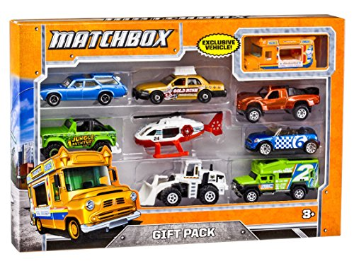 Matchbox X7111 9-Car Gift Pack (Styles May Vary) (Toys Car)