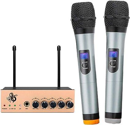 Microphone Sans Fil Karaok/é Portable Bluetooth 006