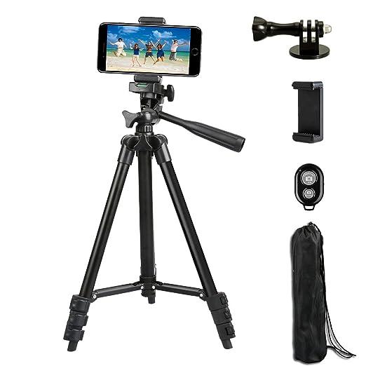 15 opinioni per Adurei- 102cm Alluminio Cavalletto Treppiede Reflex per fotocamera, Gopro,