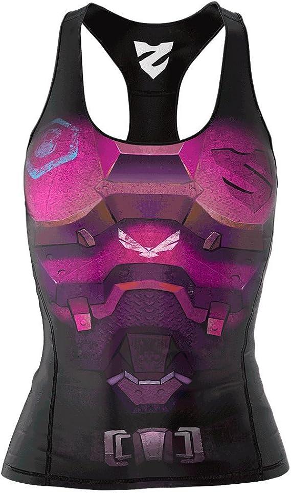 SMMASH Commando Damen Compression Sport Tank Top Hergestellt in der EU XL Yoga Top Tanktops Frauen Funktionsshirt f/ür Crossfit Fit Cut Sporttop Damen Atmungsaktiv und Leicht Fitness Laufen