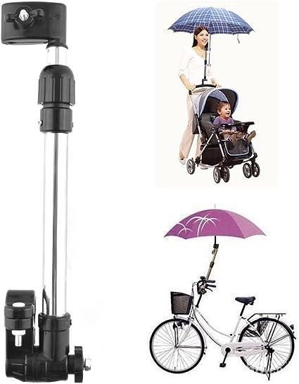 Fahrrad Rollstuhl Kinderwagen Regenschirm Anschluss Halterung Ständer Edelstahl