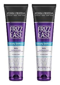 John Frieda Frizz-Ease Gel Clearly Defined 5 Ounce (145ml) (2 Pack)