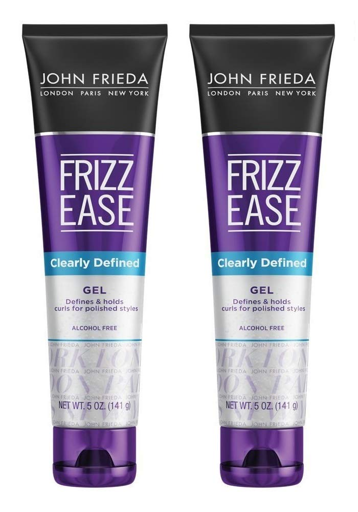 John Frieda Frizz-Ease Gel Clearly Defined 5 Ounce (145ml) (2 Pack)